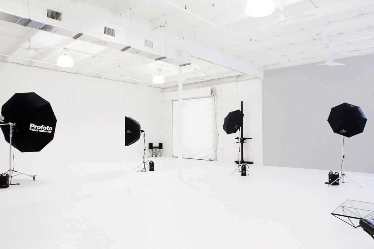 Studio B from kitchen area